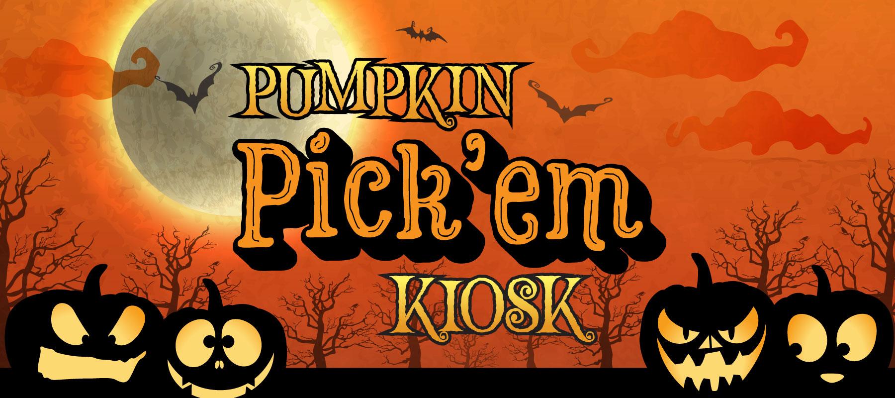 Pumpkin Pick 'Em Kiosk