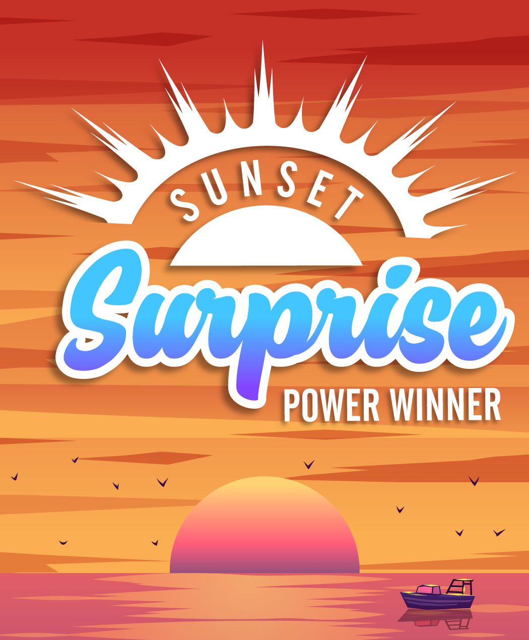 Sunset Surprise Power Winner