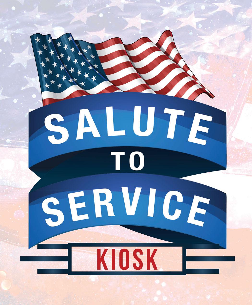 Salute To Service Kiosk