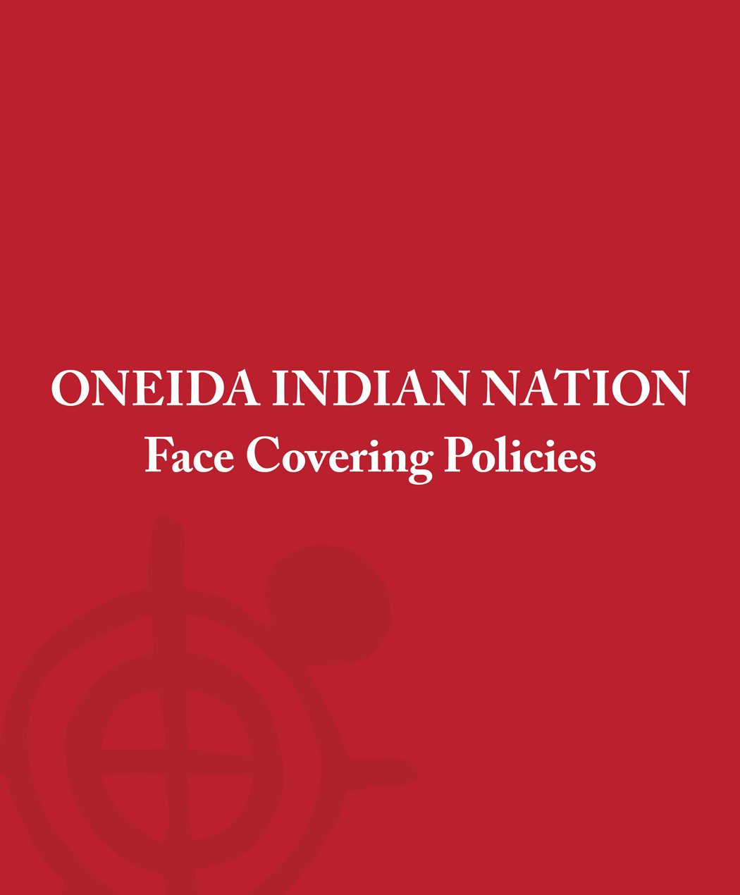 Face Covering Policies
